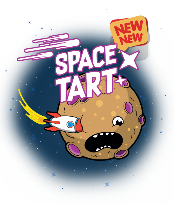 New flavour Space Tart